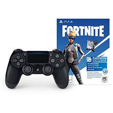 Gamepad Sony PS4 Dualshock 4 V2 - Black + Fortnite