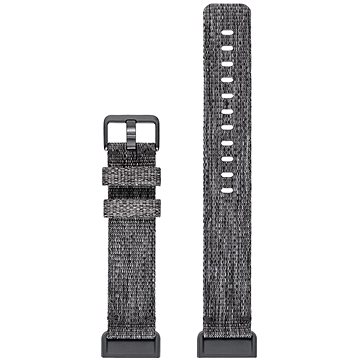 Remienok Fitbit Charge 3 Accessory Band Woven Charcoal Large