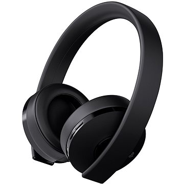 Sony PS4 Gold Wireless Headset Black