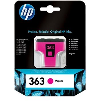 Cartridge HP C8772EE č. 363 purpurová
