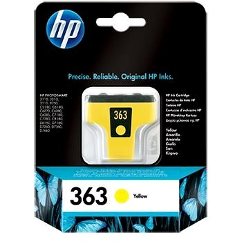 Cartridge HP C8773EE č. 363 žlutá