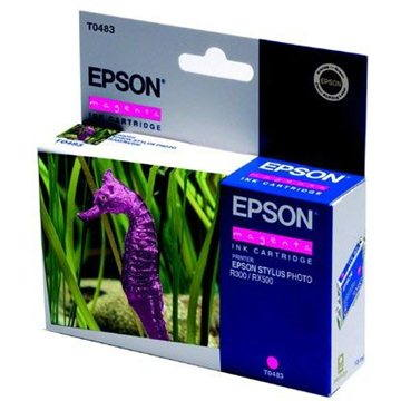 Cartridge Epson T0483 purpurová