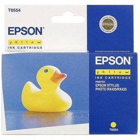 Cartridge Epson T0554 žltá