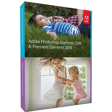 Adobe Photoshop Elements + Premiere Elements 2018 MP ENG