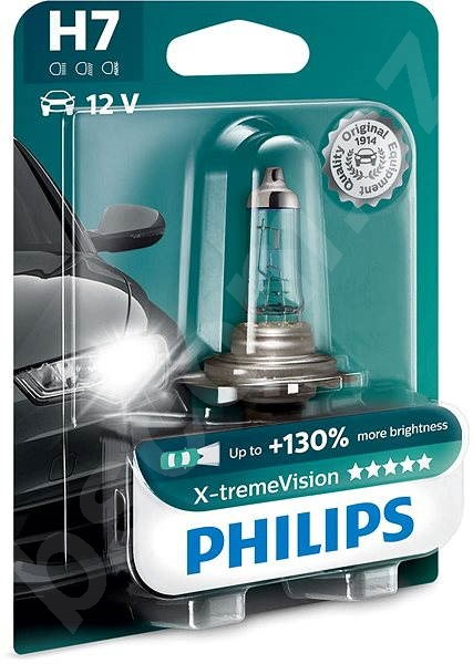 Autožárovka PHILIPS  H7 X-tremeVision, 55W, patice PX26d