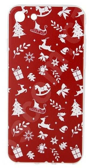 Kryt na mobil Epico RED XMAS pro iPhone 7/8