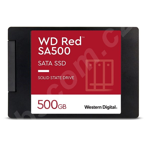 """SSD disk WD Red SSD 500GB 2.5 """""""