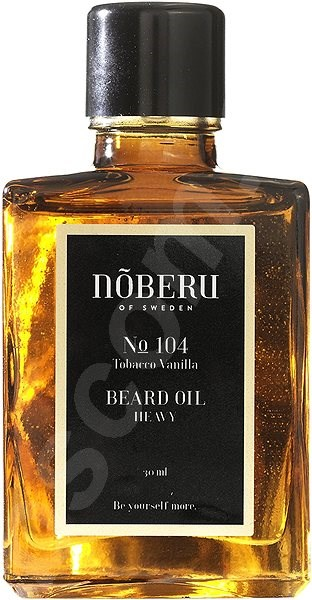 Olej na vousy NOBERU Tobacco Vanilla Heavy Beard Oil 30 ml