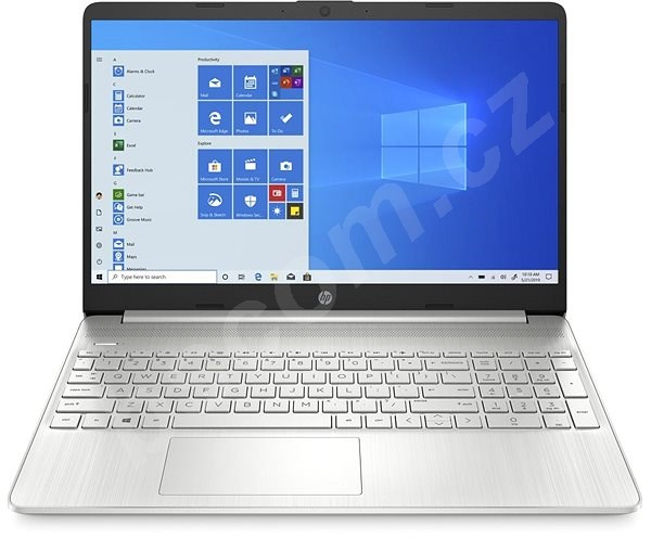 Notebook HP 15s-fq1008nc Natural Silver