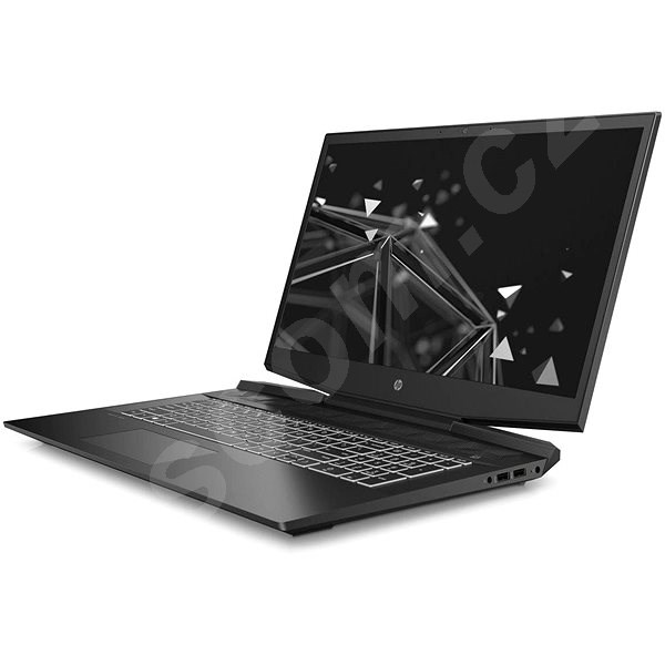 Herní notebook HP Pavilion Gaming 17-cd1020nc Shadow Black White