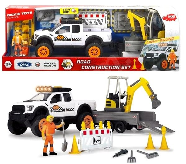 Auto Dickie Road Construction Set