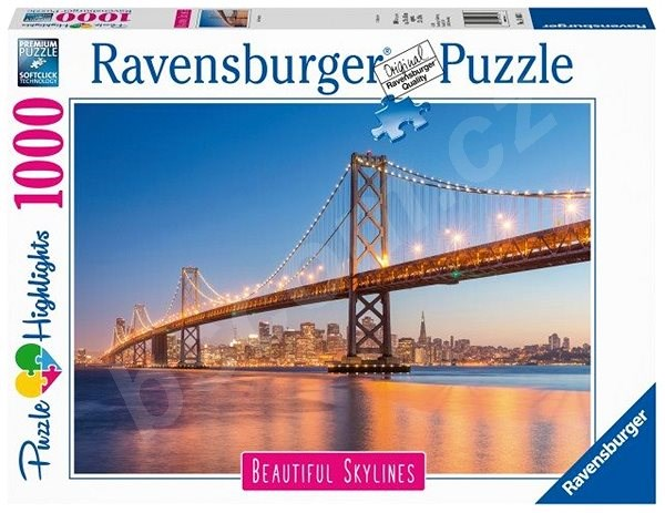 Puzzle Ravensburger 140831 San Francisco