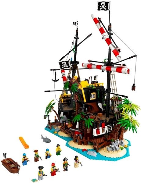 LEGO stavebnice LEGO Ideas 21322 Pirates of Barracuda Bay