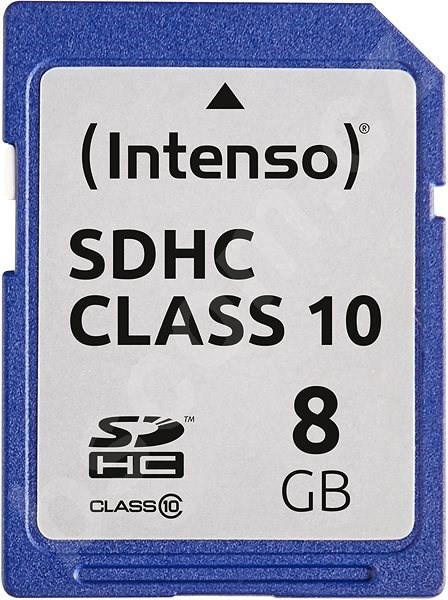 Paměťová karta Intenso SD Card Class 10 8GB