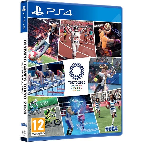 Hra pre konzolu Olympic Games Tokyo 2020 - The Official Video Game - PS4
