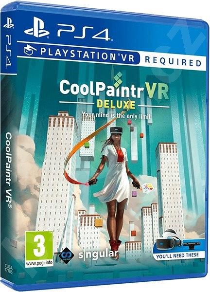 Hra na konzoli CoolPaintr VR: Deluxe Edition - PS4