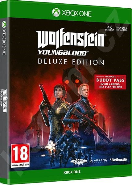 Hra pre konzolu Wolfenstein Youngblood Deluxe Edition - Xbox One