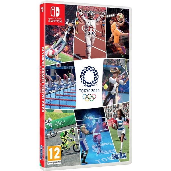 Hra pre konzolu Olympic Games Tokyo 2020 - The Official Video Game - Nintendo Switch