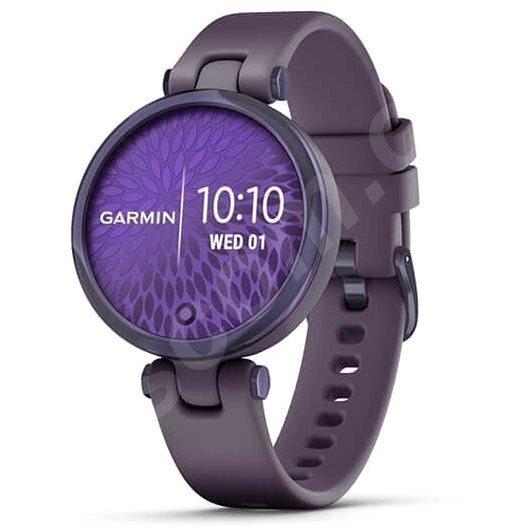Chytré hodinky Garmin Lily Sport Midnight Orchid/Orchid Silicone Band