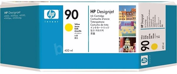 Cartridge HP C5065A č. 90 XL žlutá