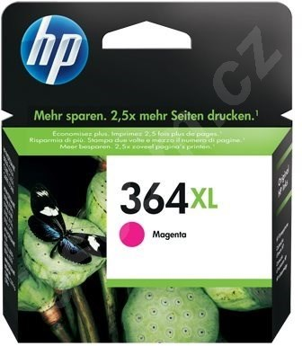 Cartridge HP CB324EE č. 364XL purpurová