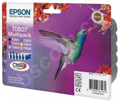 Cartridge Epson T0807 multipack