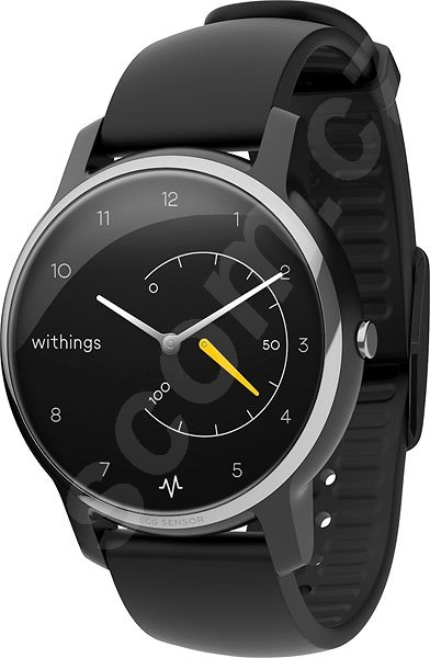 Chytré hodinky Withings Move ECG - Black