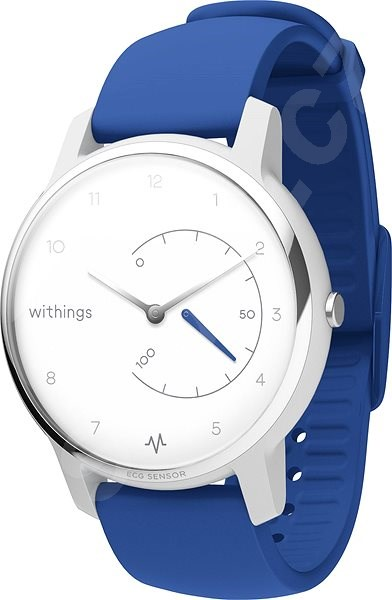 Chytré hodinky Withings Move ECG - Blue