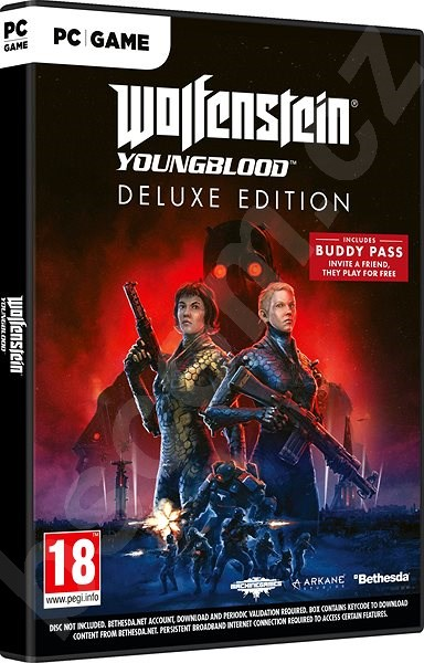 Hra pre PC Wolfenstein Youngblood Deluxe Edition